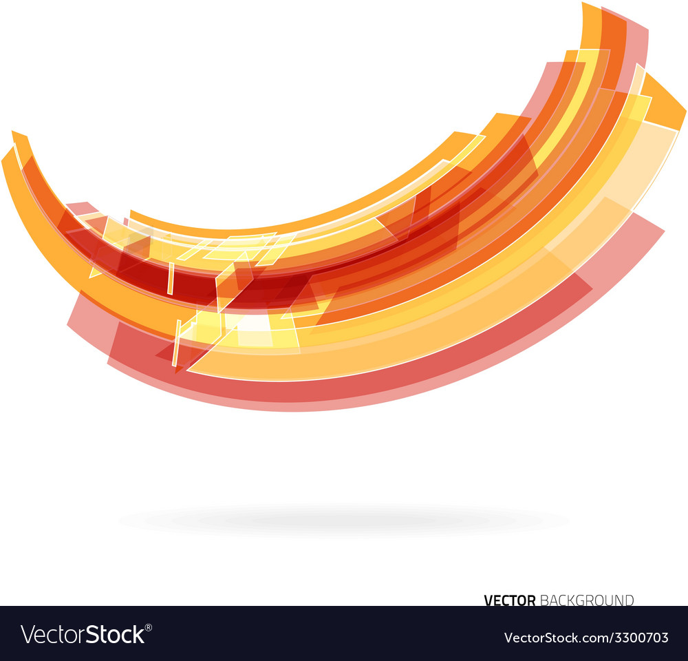 Abstract bright geometrical wave vector | Price: 1 Credit (USD $1)
