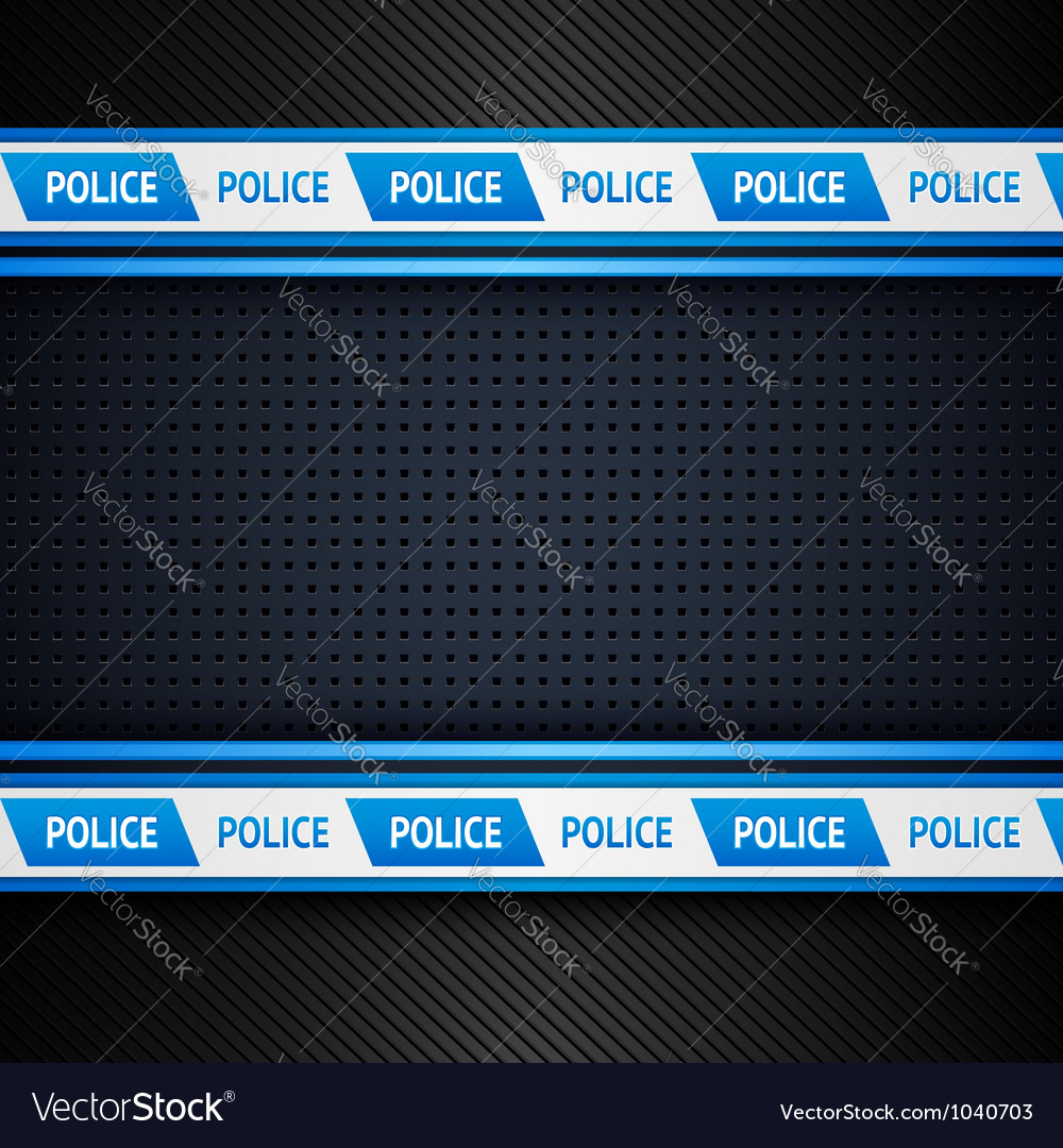 Metallic perforated sheet police background vector | Price: 1 Credit (USD $1)