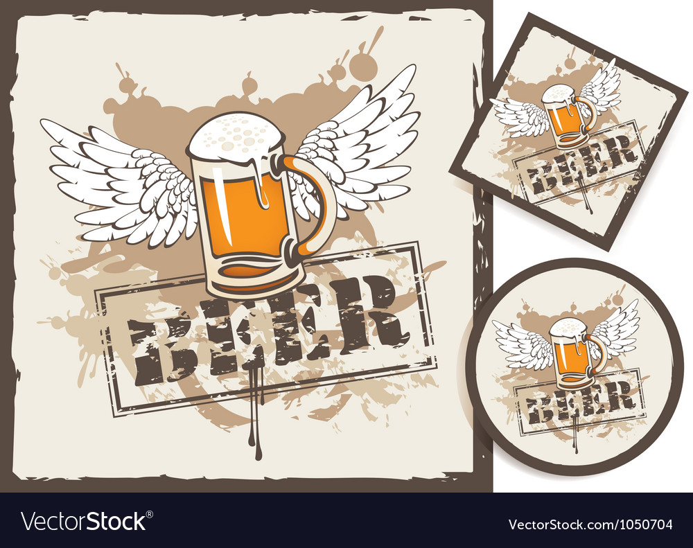 Beer stand vector | Price: 1 Credit (USD $1)