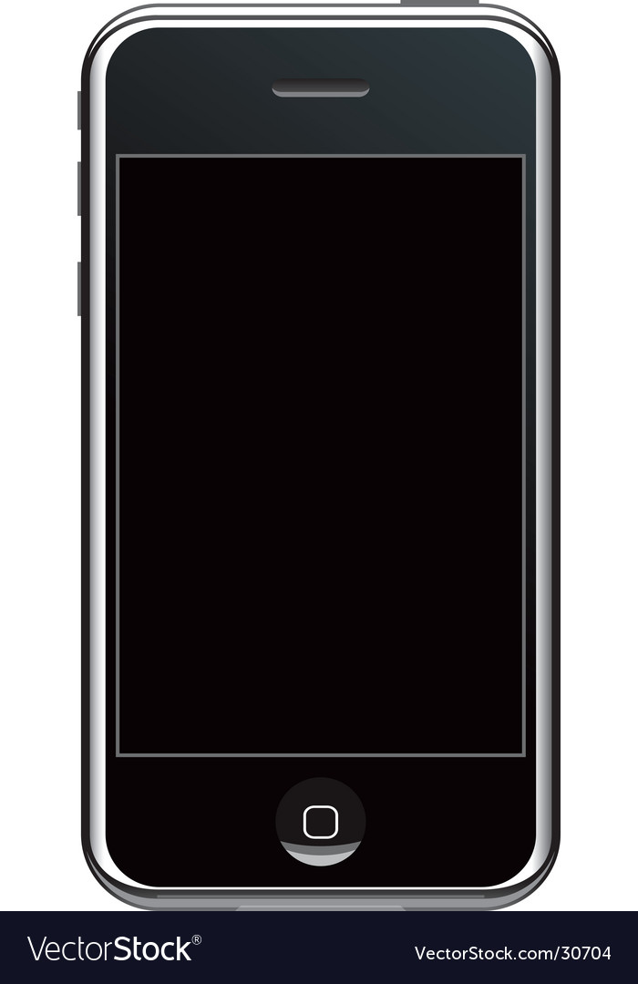 Modern smartphone vector | Price: 1 Credit (USD $1)