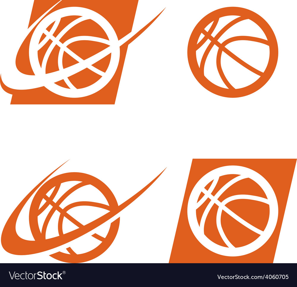 Basketball logo icon vector | Price: 1 Credit (USD $1)