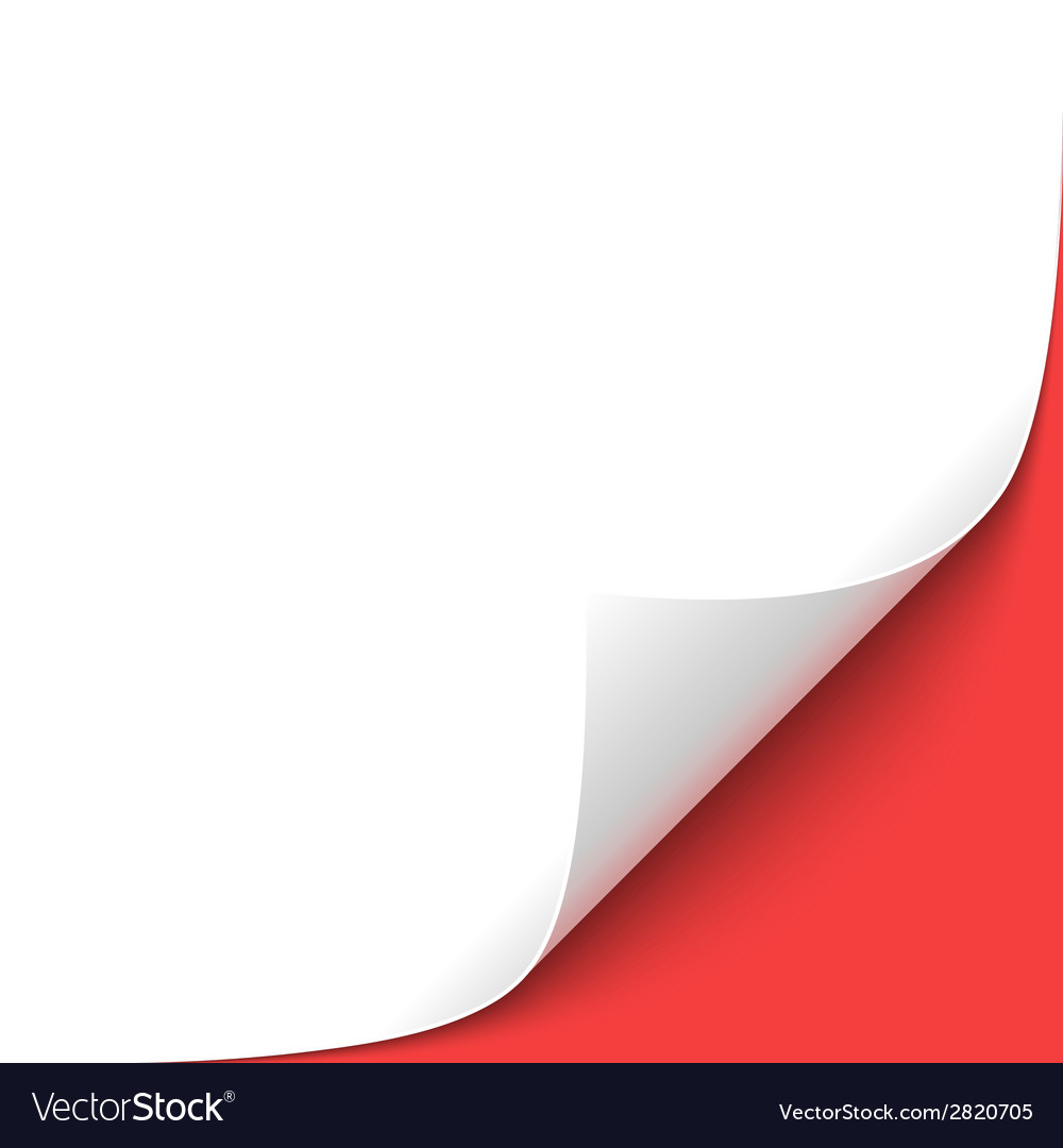 Curled corner vector   Price: 1 Credit (USD $1)