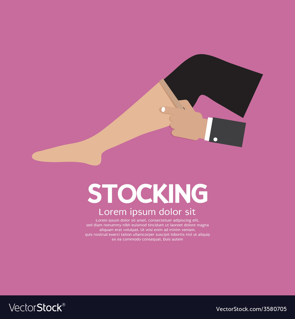 Lady stocking clothes accessories vector | Price: 1 Credit (USD $1)