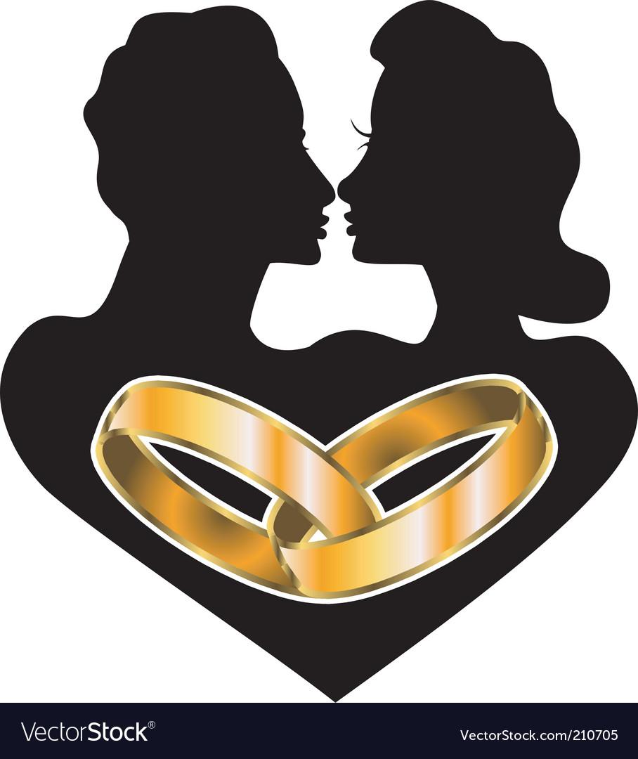 Marriage love vector | Price: 1 Credit (USD $1)