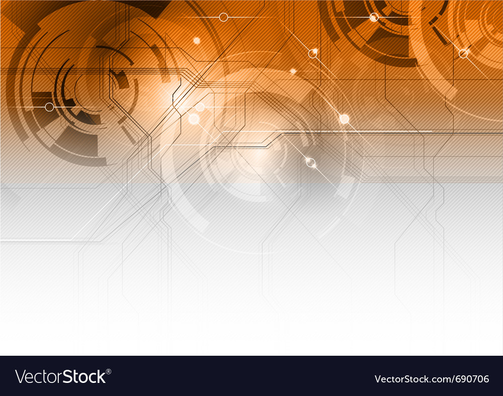 Tech background vector | Price: 1 Credit (USD $1)