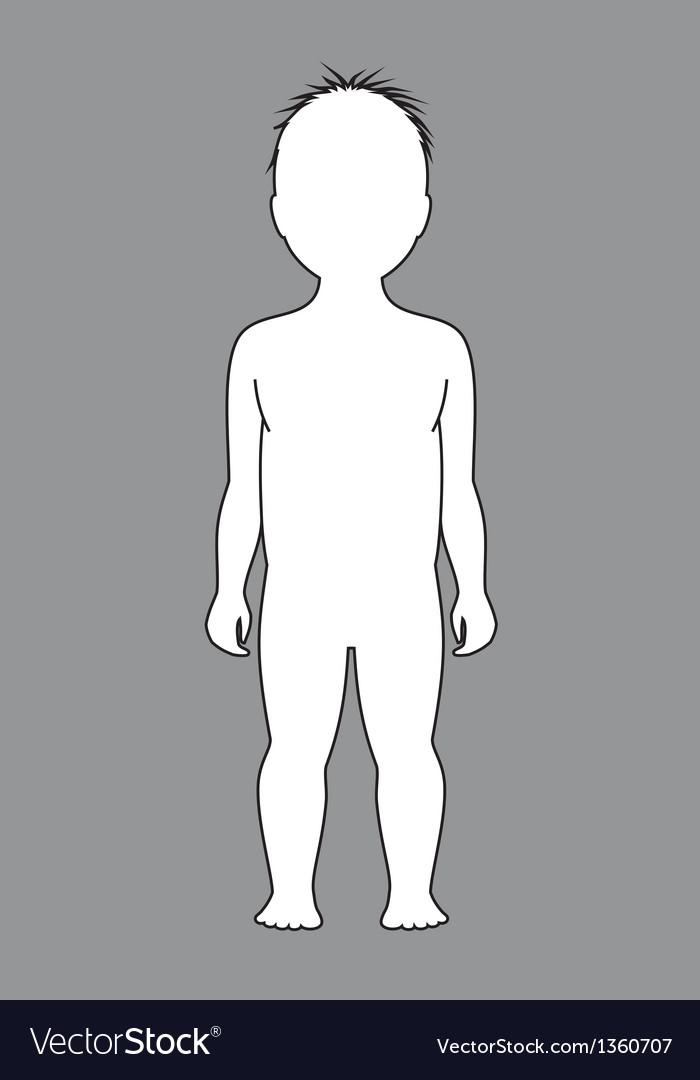 Child figure vector | Price: 1 Credit (USD $1)