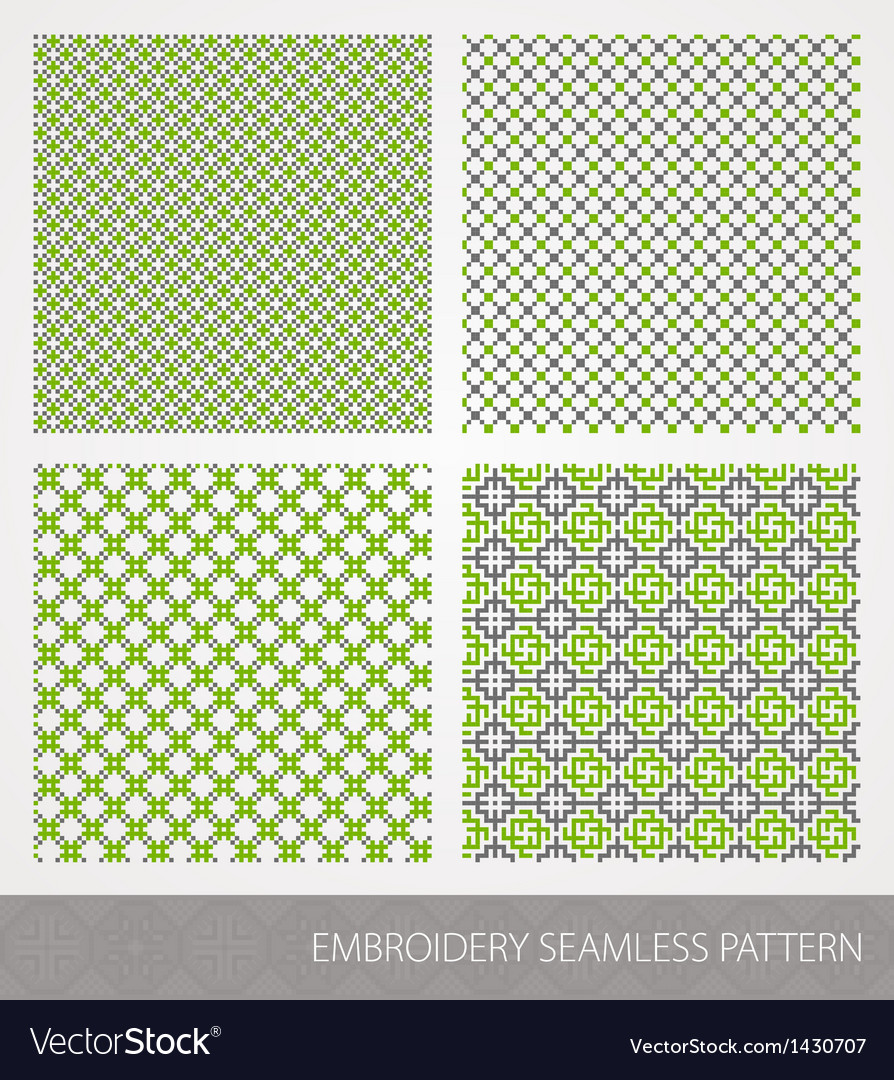 Embrodery pattern vector | Price: 1 Credit (USD $1)