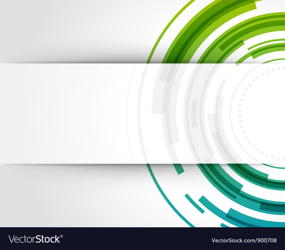 Abstract technology circles background vector | Price: 1 Credit (USD $1)