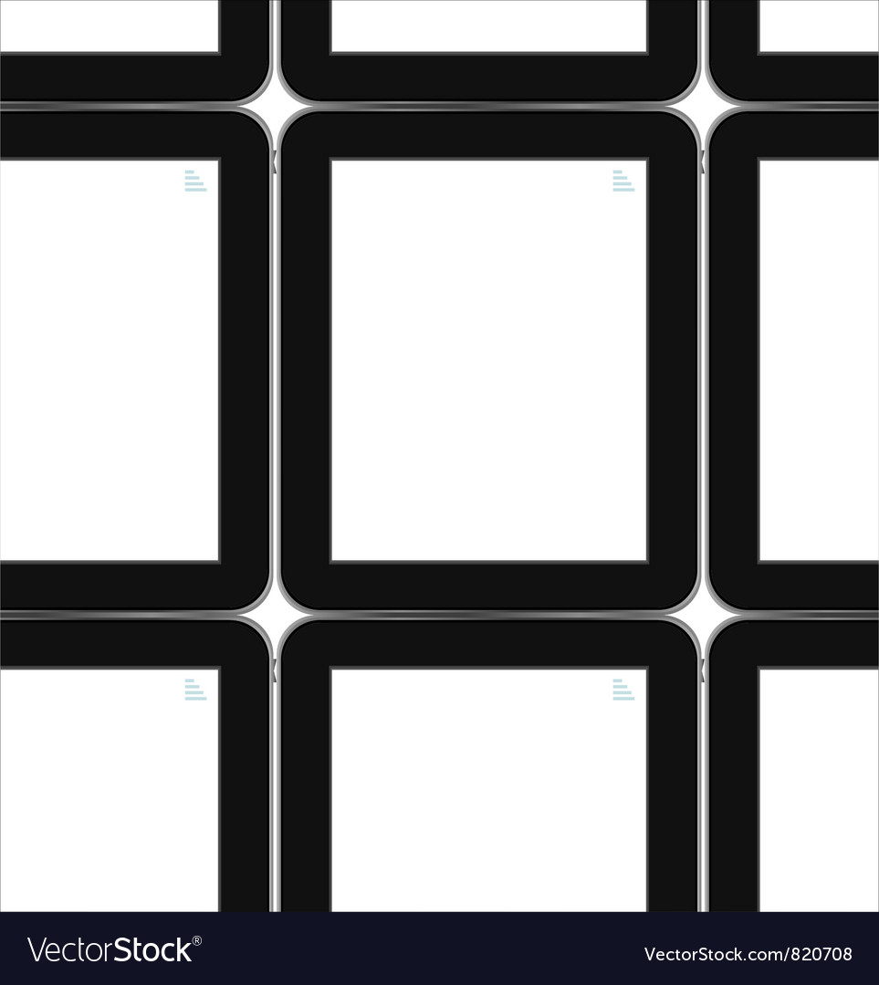 Black tablets background tablet pc ipad vector | Price: 1 Credit (USD $1)