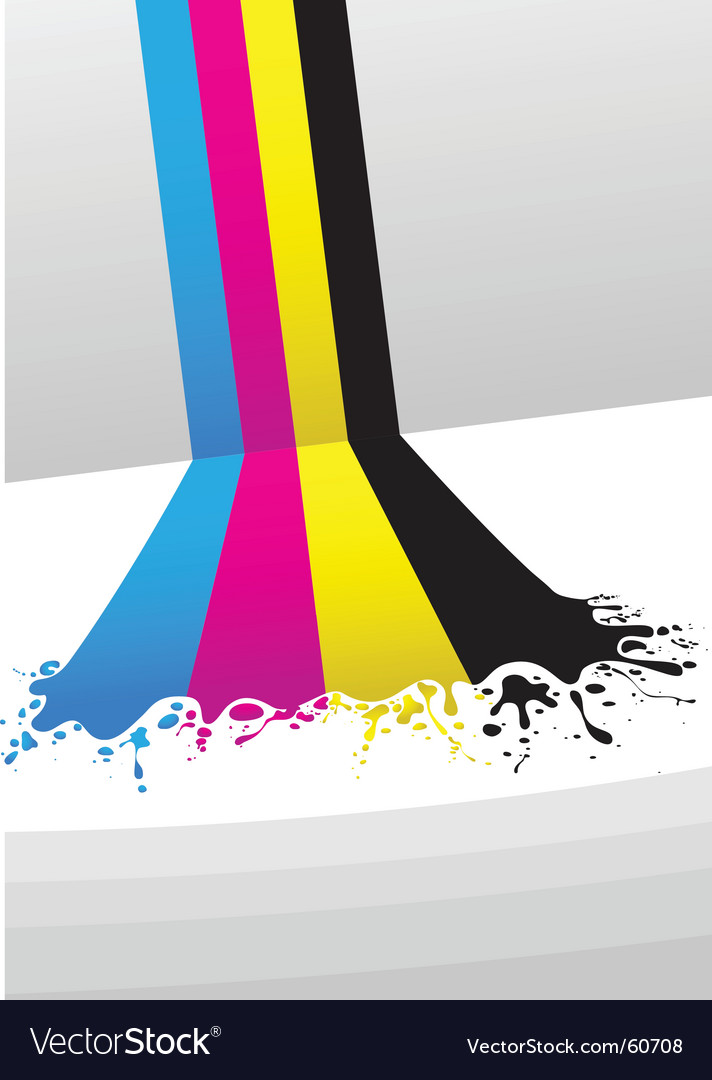 Cmyk paint vector | Price: 1 Credit (USD $1)