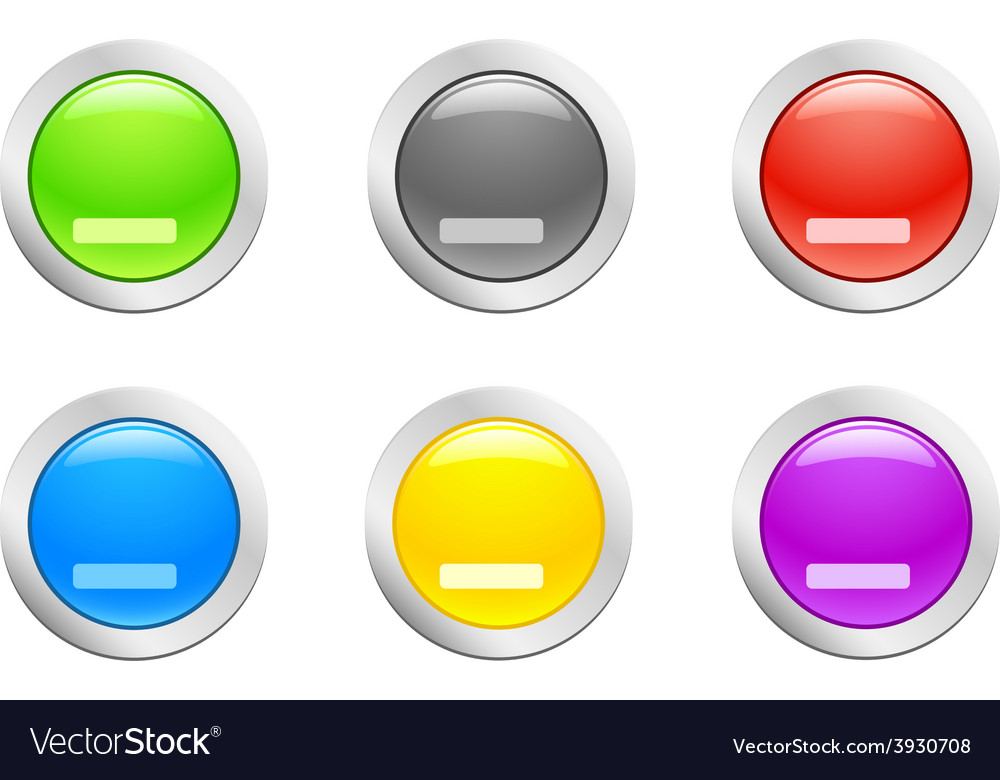 Cut down button vector | Price: 1 Credit (USD $1)