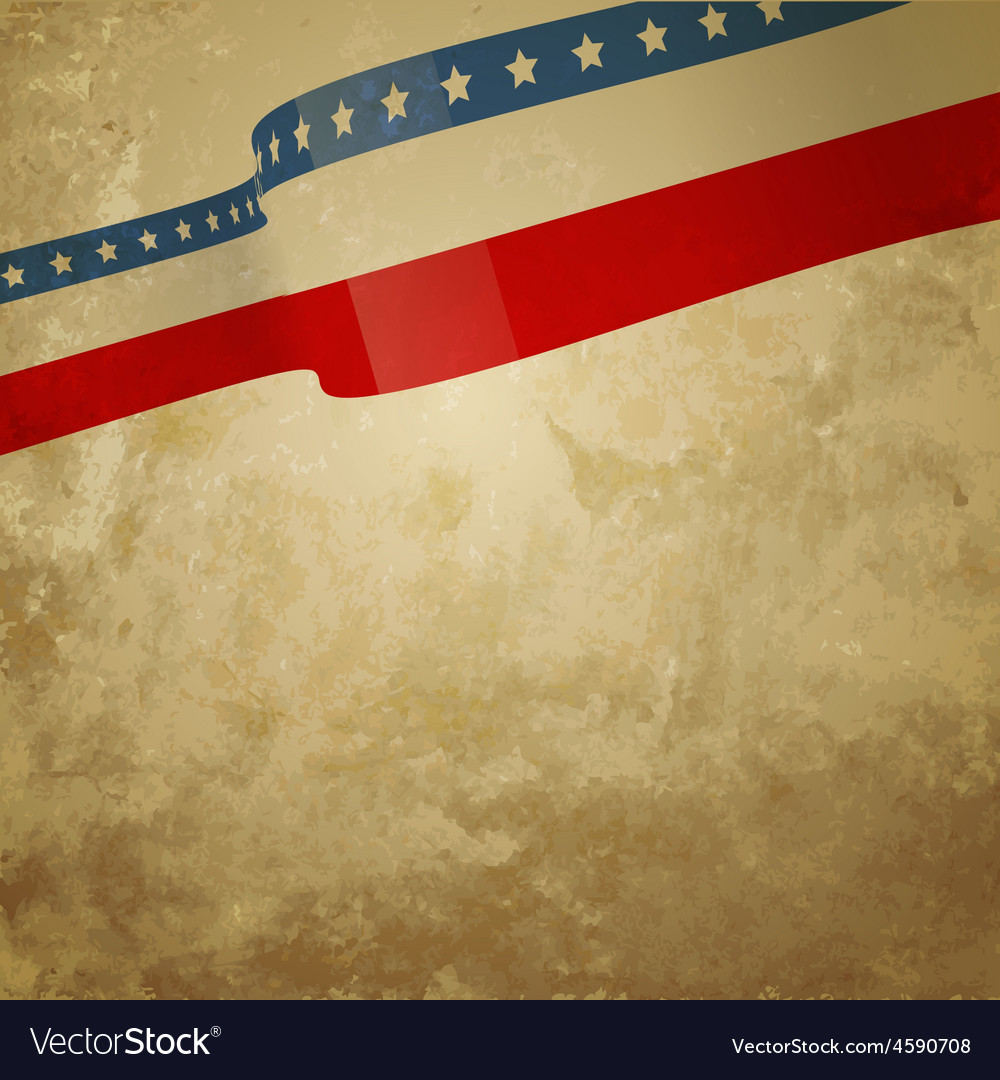 Grunge style american background vector | Price: 1 Credit (USD $1)