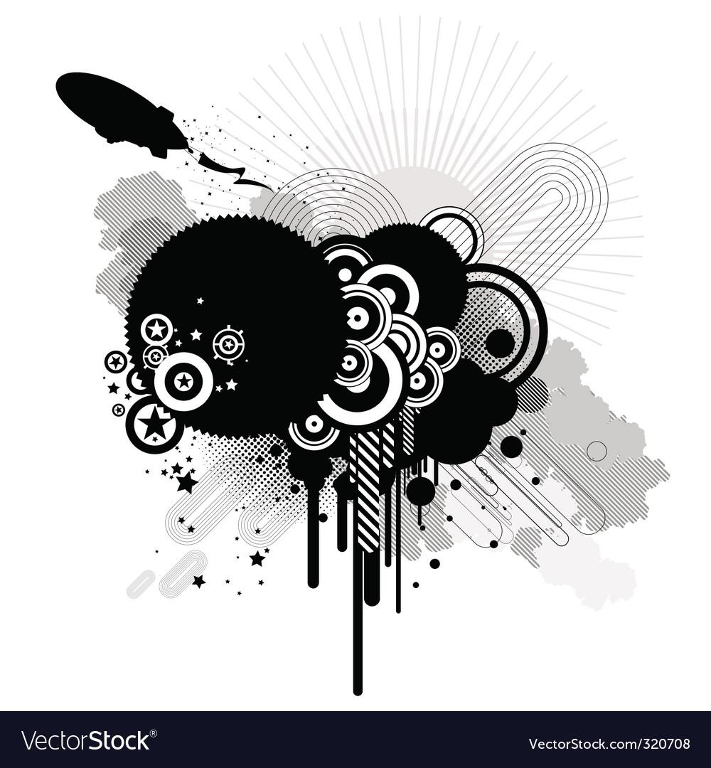 Retro design vector | Price: 1 Credit (USD $1)