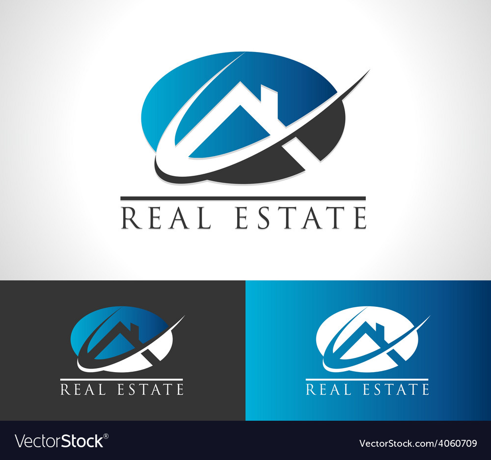 Real estate house logo icon vector   Price: 1 Credit (USD $1)