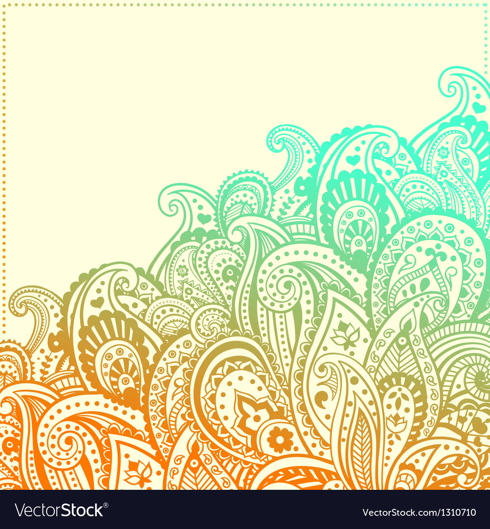 Beautiful ornament vector | Price: 1 Credit (USD $1)