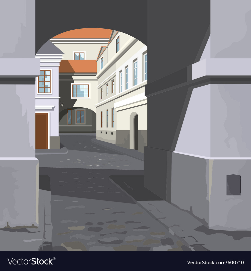 Street views vector | Price: 3 Credit (USD $3)