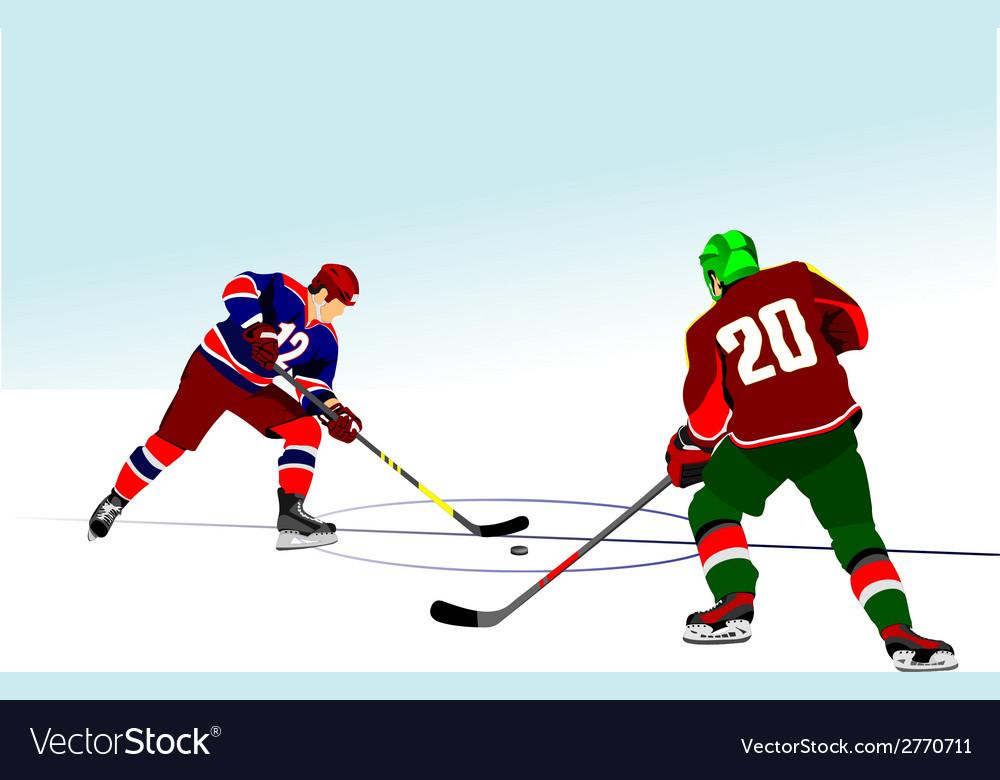 Al 0834 hockey 04 vector | Price: 1 Credit (USD $1)