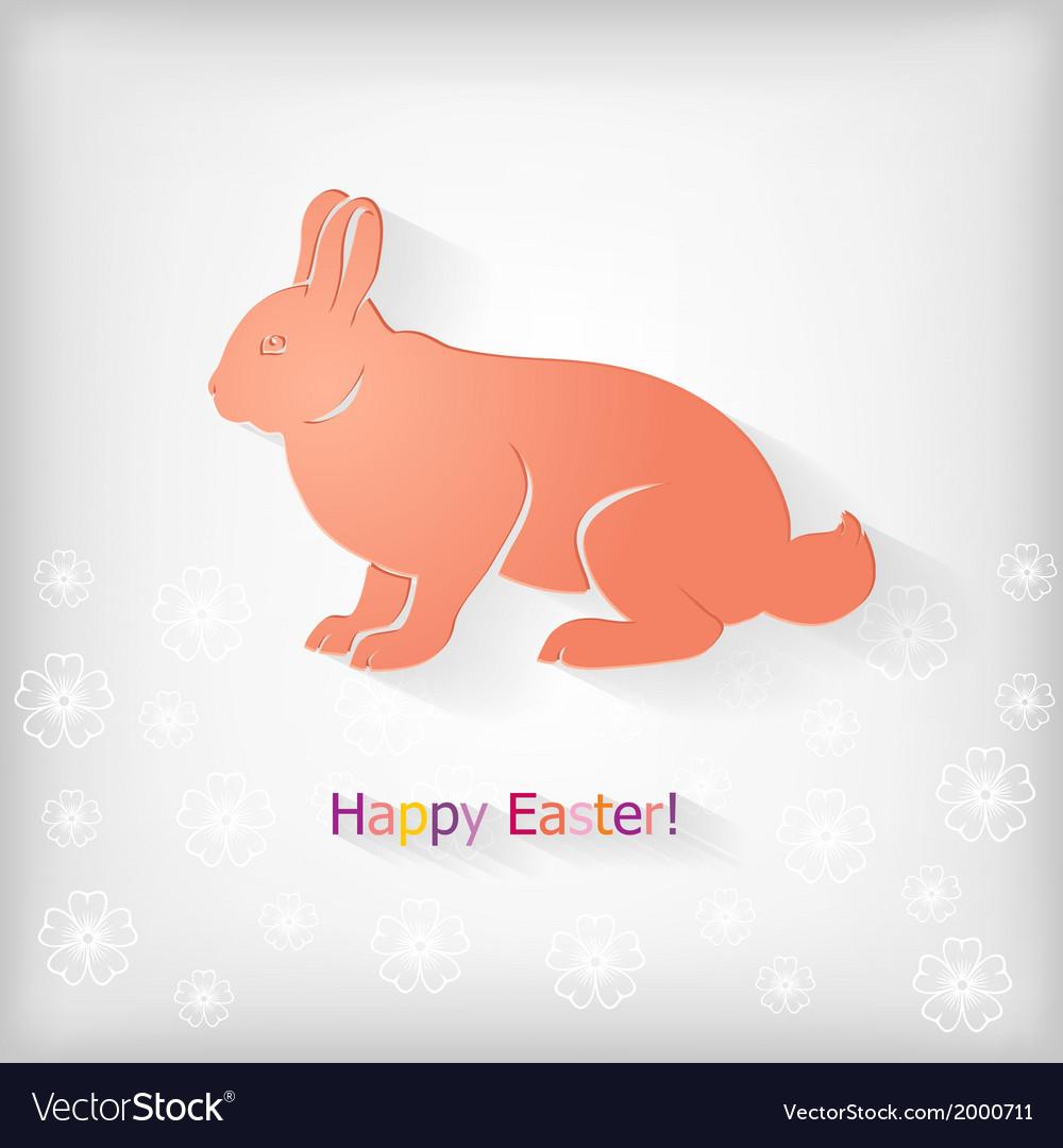 Rabbit back vector | Price: 1 Credit (USD $1)