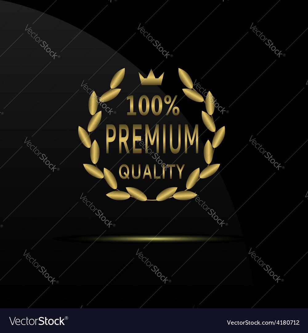 Premium quality label vector | Price: 1 Credit (USD $1)