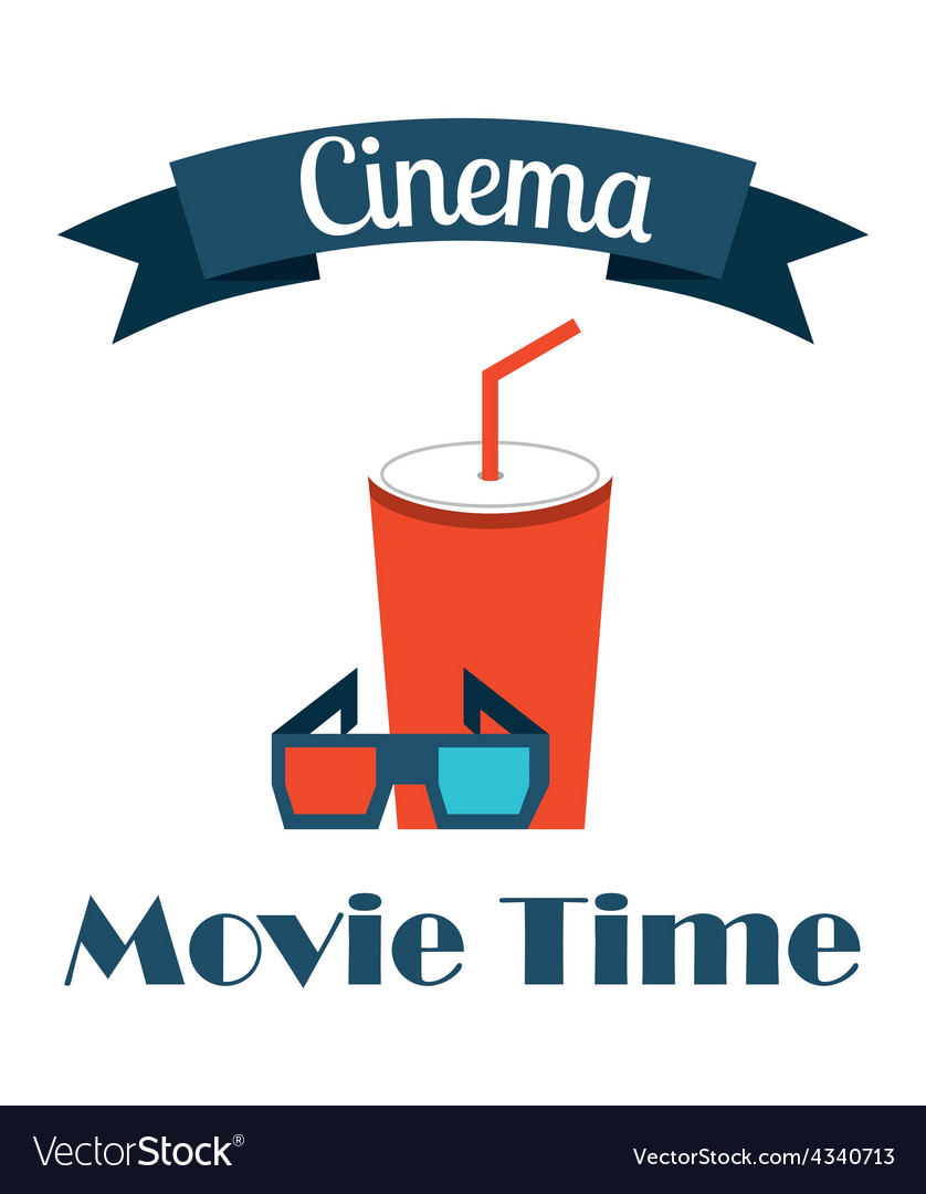 Cinema icons vector | Price: 1 Credit (USD $1)