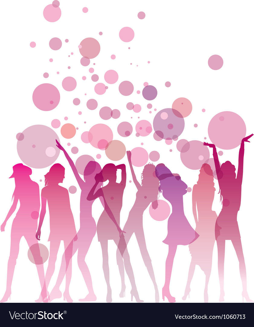 Ladies night vector | Price: 1 Credit (USD $1)