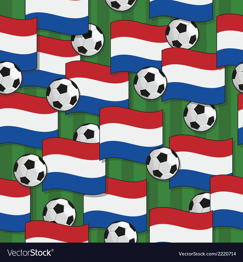 Holland football pattern vector | Price: 1 Credit (USD $1)