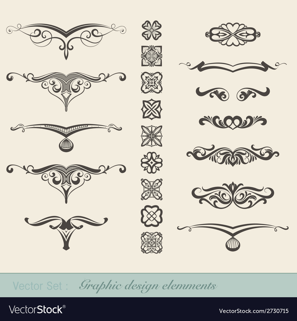 Graphic elements vector | Price: 1 Credit (USD $1)