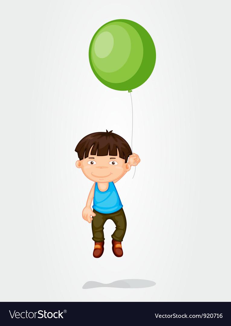Balloon boy vector | Price: 3 Credit (USD $3)