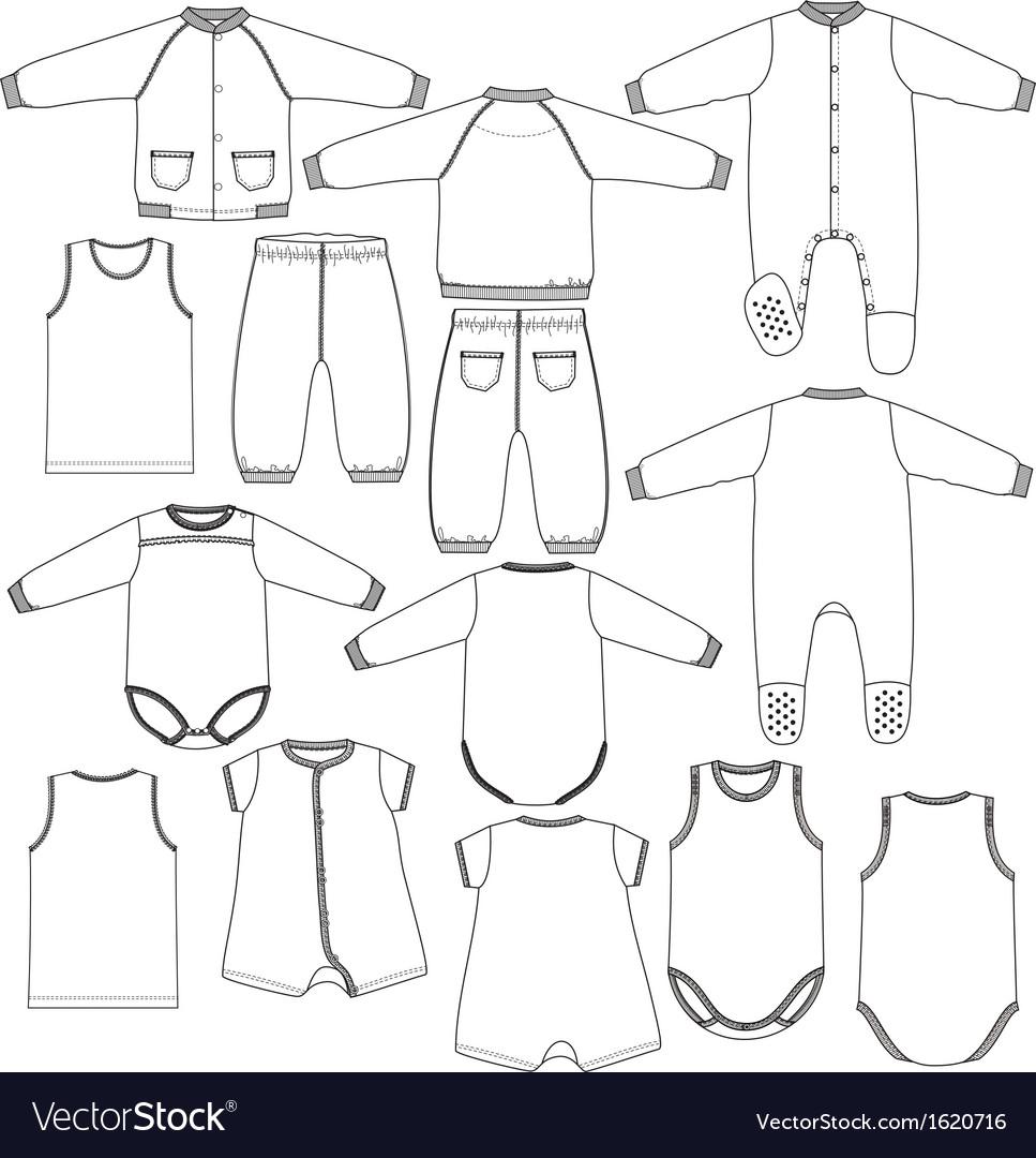 Kids underwear vector | Price: 1 Credit (USD $1)