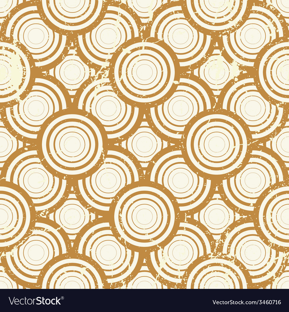 Vintage geometric seamless pattern repeat vector | Price: 1 Credit (USD $1)