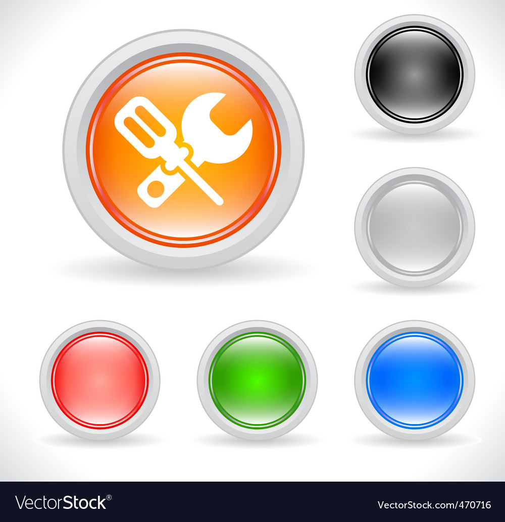 Webiste template icons vector | Price: 1 Credit (USD $1)