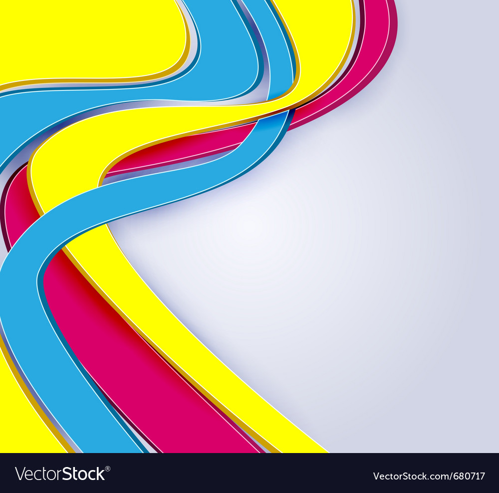 3d abstract multicolor vector | Price: 1 Credit (USD $1)