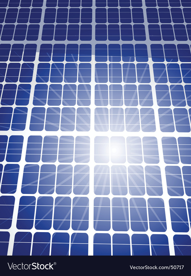 Solar panel background vector | Price: 1 Credit (USD $1)