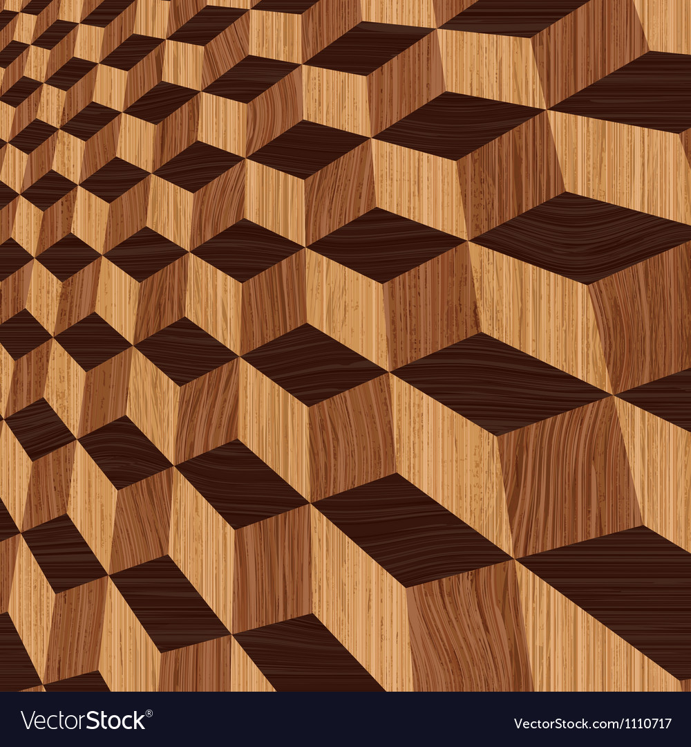 Wooden geometric background vector | Price: 1 Credit (USD $1)