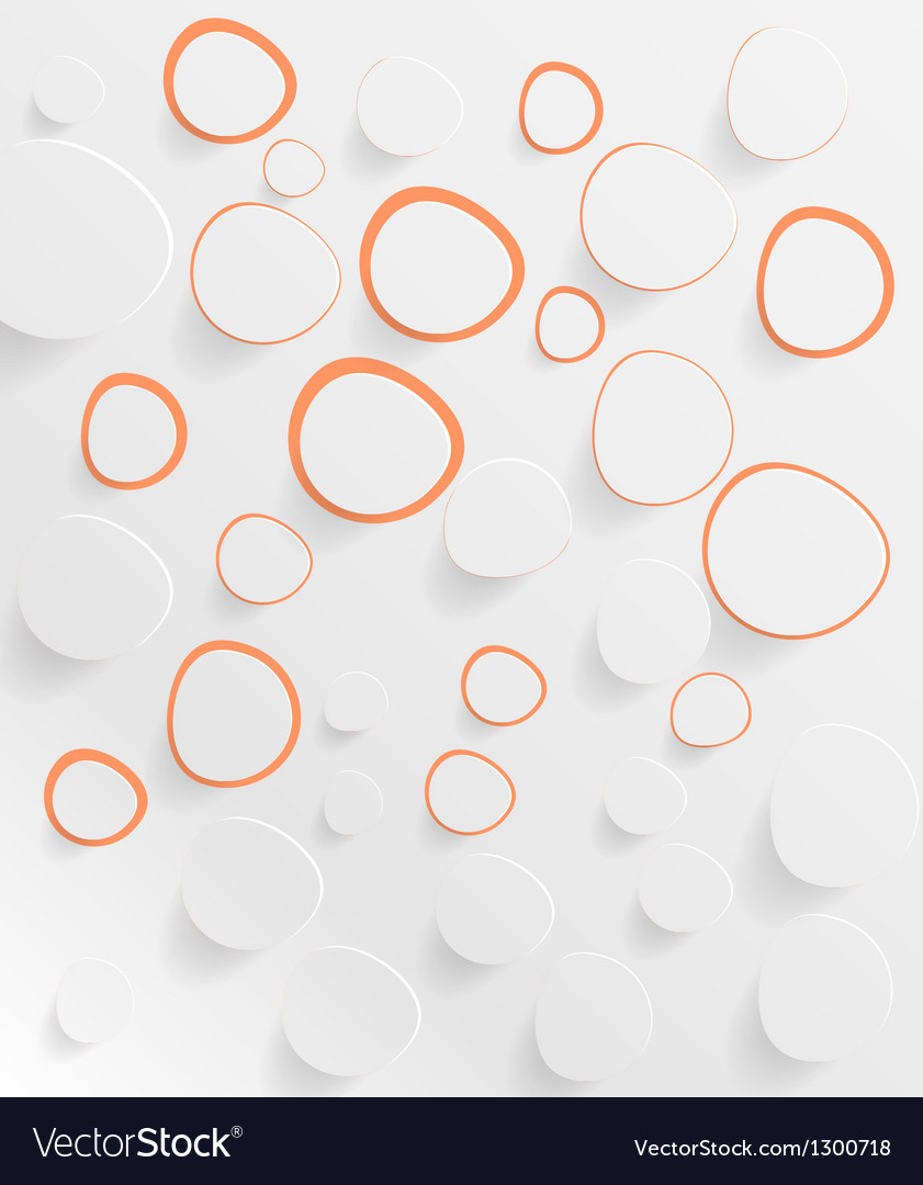 Abstract web design bubble vector | Price: 1 Credit (USD $1)
