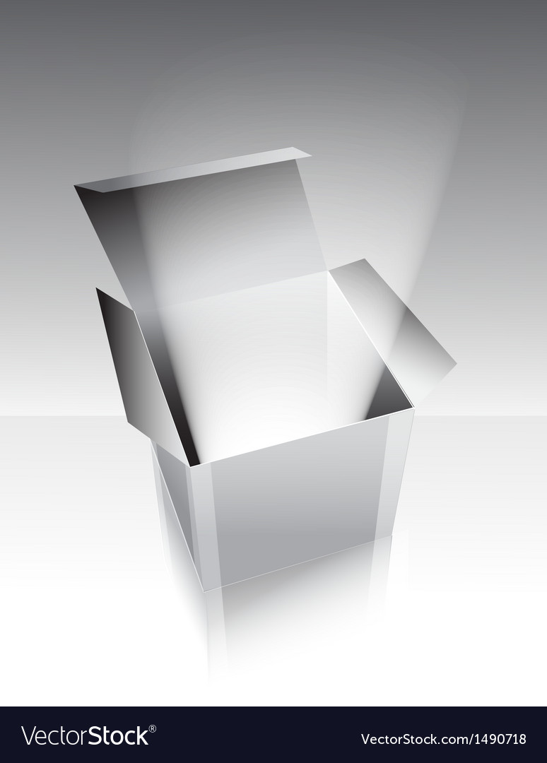 Gray box with light vector | Price: 1 Credit (USD $1)