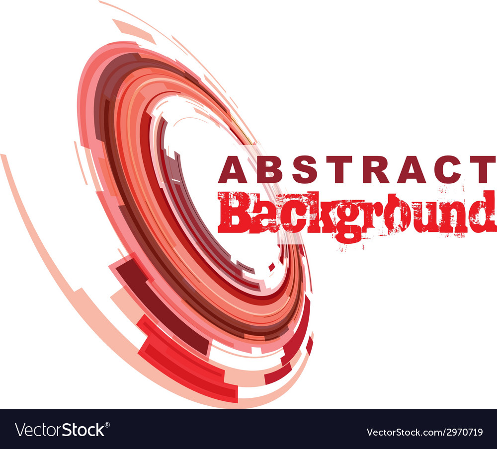 Abstract red vector | Price: 1 Credit (USD $1)