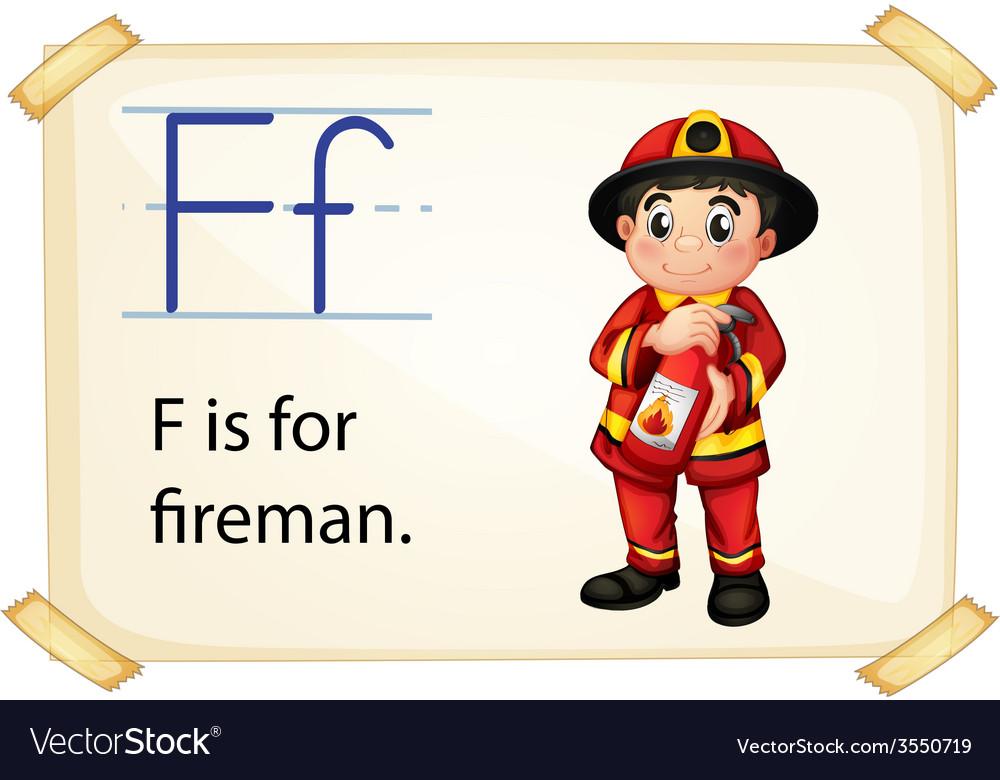 Alphabet f vector | Price: 3 Credit (USD $3)