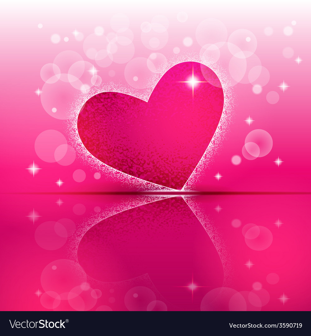 Heart shape on colorful background vector | Price: 1 Credit (USD $1)