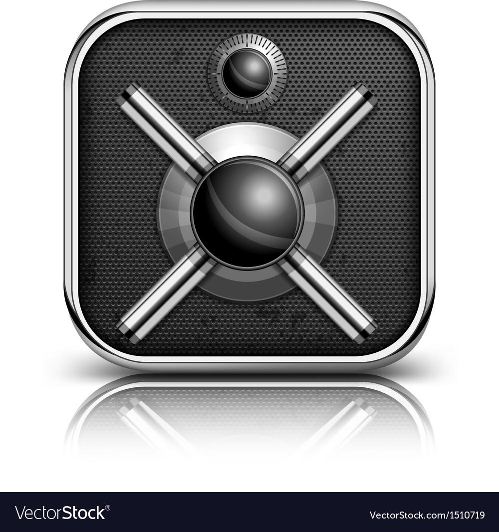 Safe icon vector | Price: 1 Credit (USD $1)