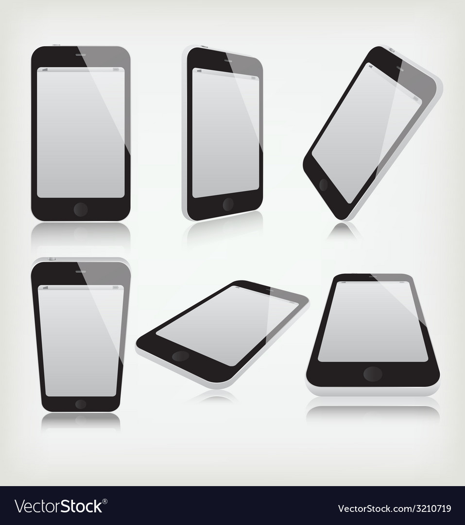 Set phone vector | Price: 1 Credit (USD $1)