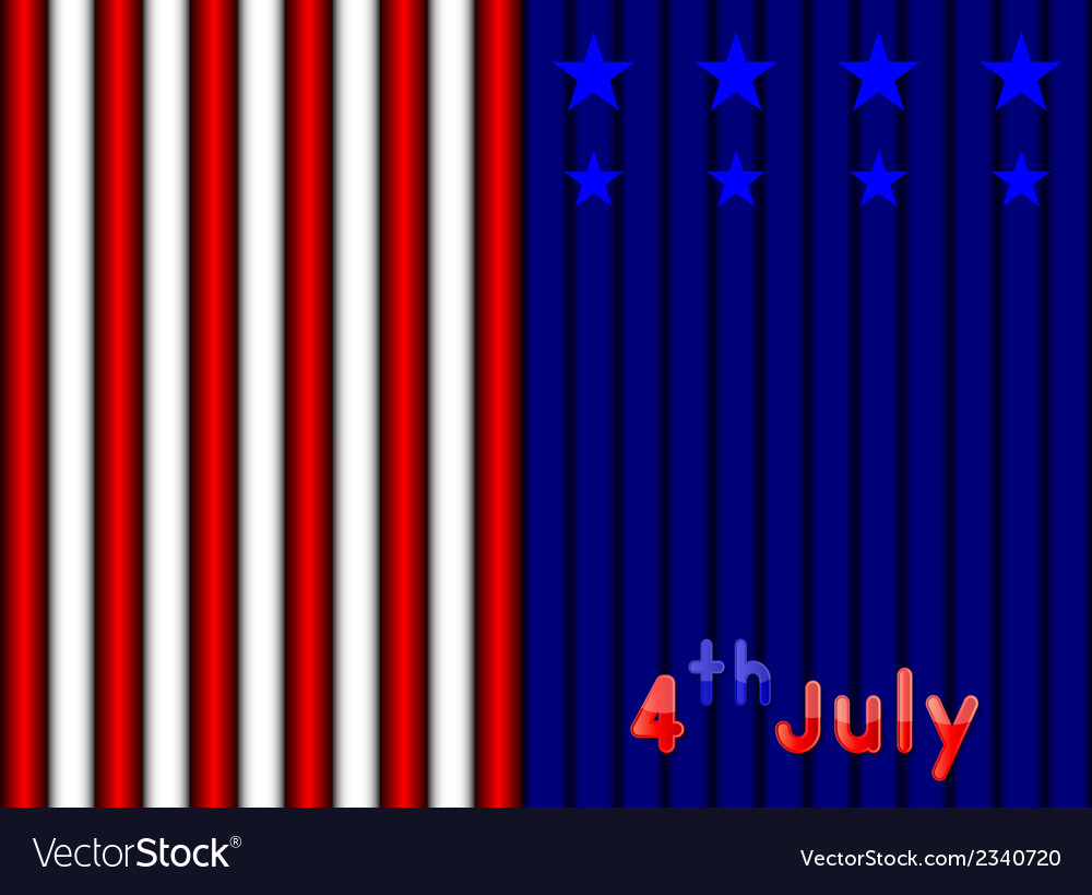 4th july independence day vector | Price: 1 Credit (USD $1)