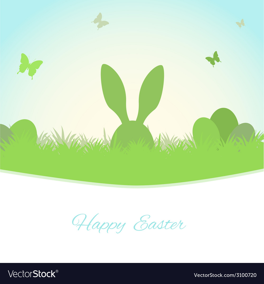 Easter spring background vector | Price: 1 Credit (USD $1)