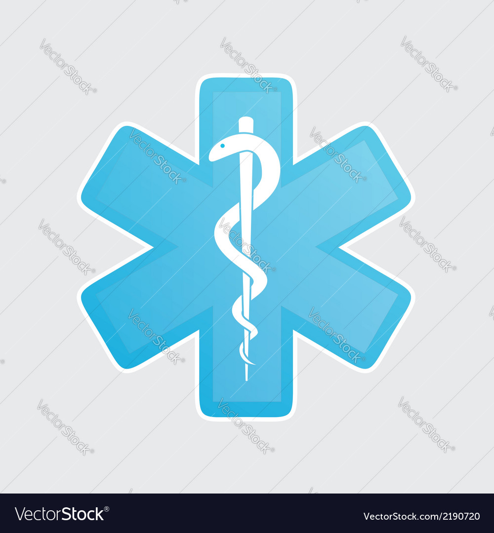 Medical icons on white vector | Price: 1 Credit (USD $1)
