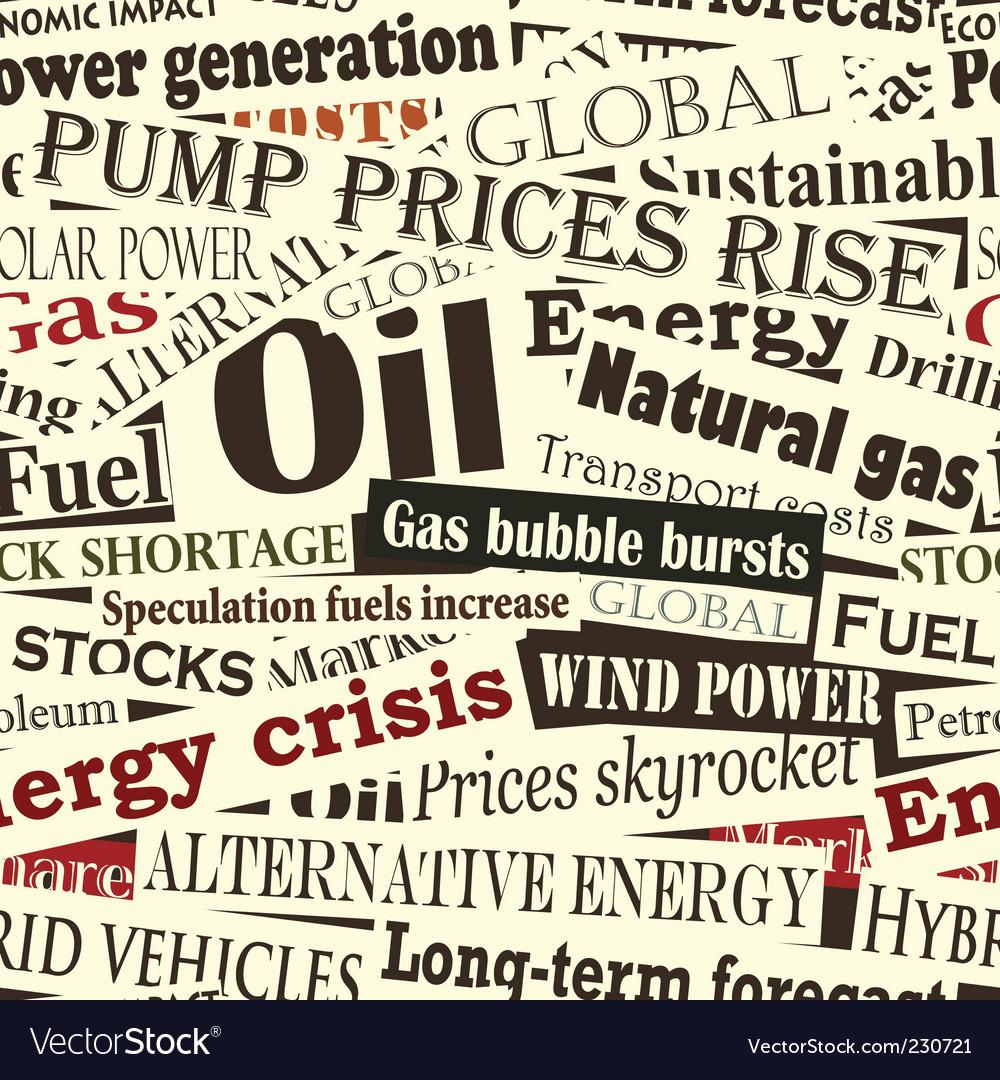 Energy headlines vector | Price: 1 Credit (USD $1)