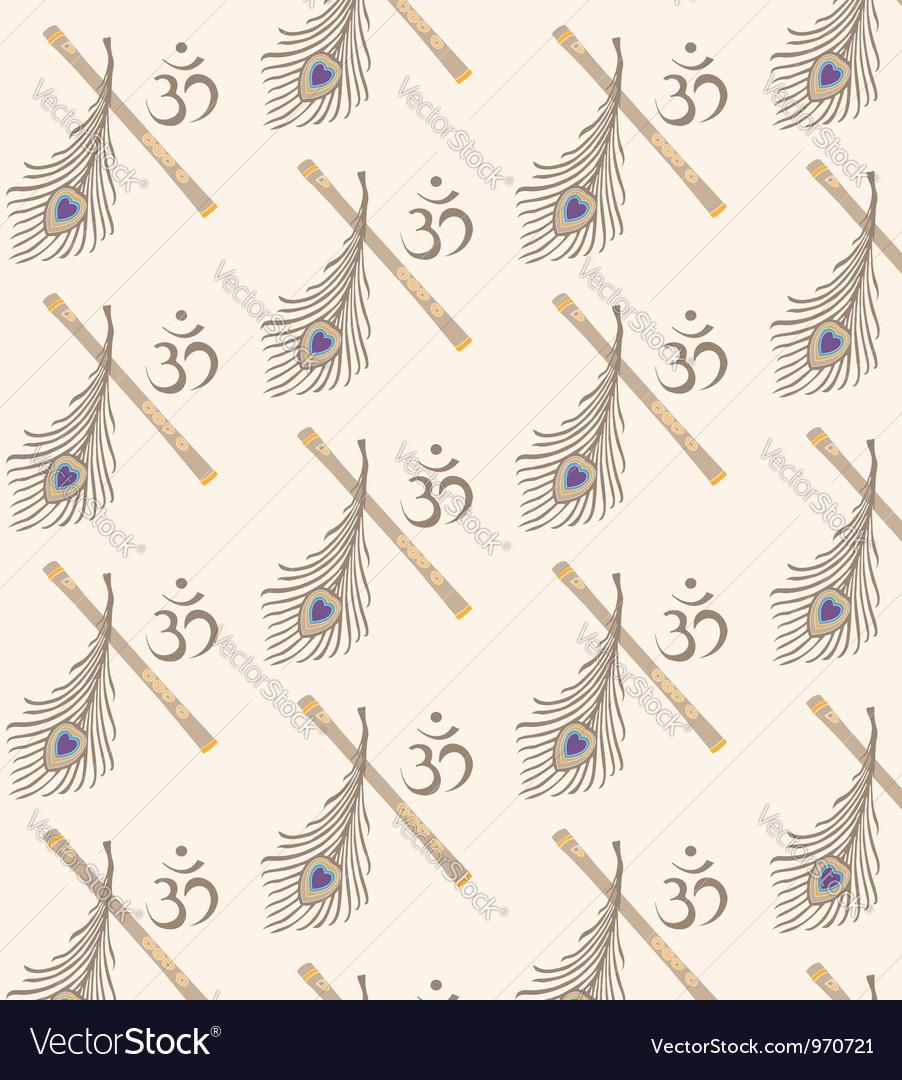 Indian symbol seamless vector | Price: 1 Credit (USD $1)