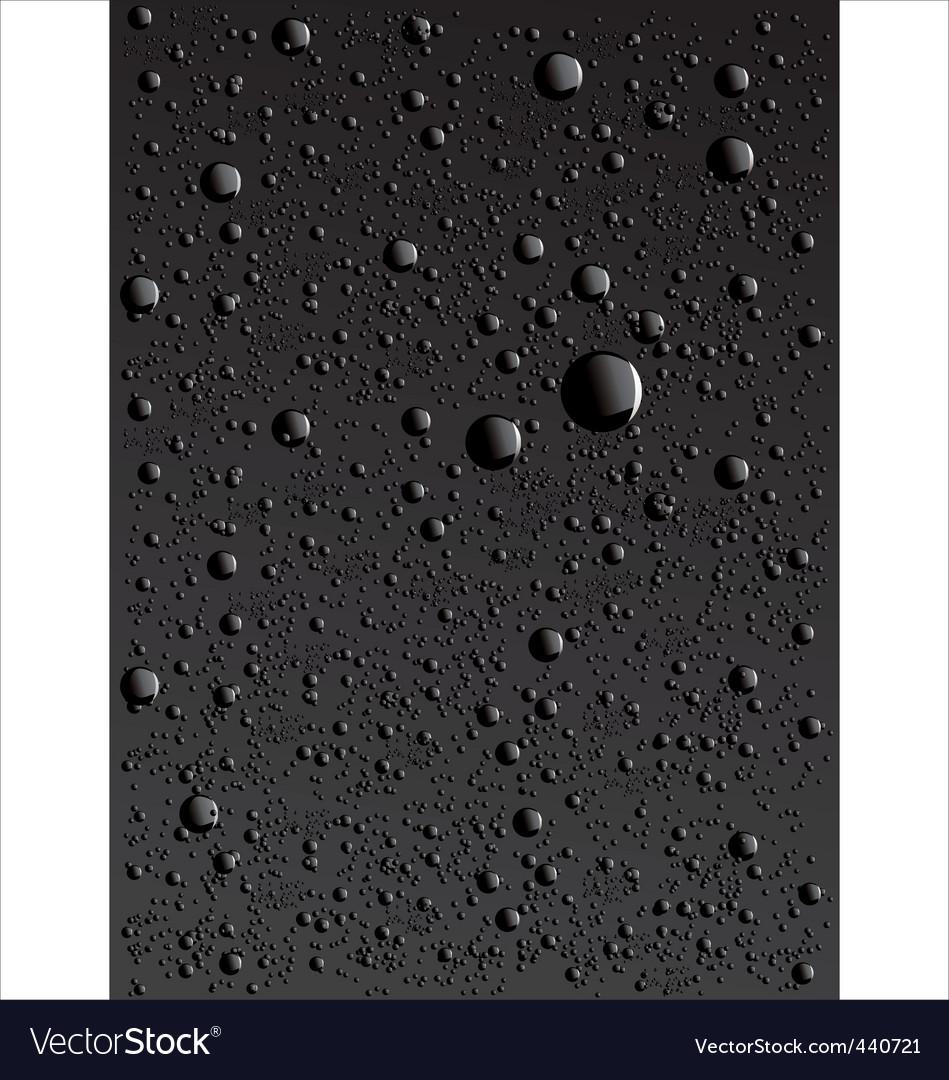 Water drop background vector | Price: 1 Credit (USD $1)