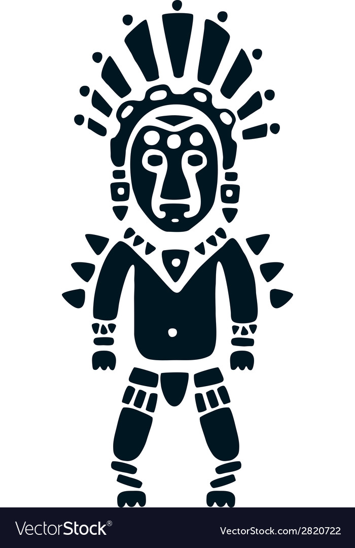 Aztec vector | Price: 1 Credit (USD $1)
