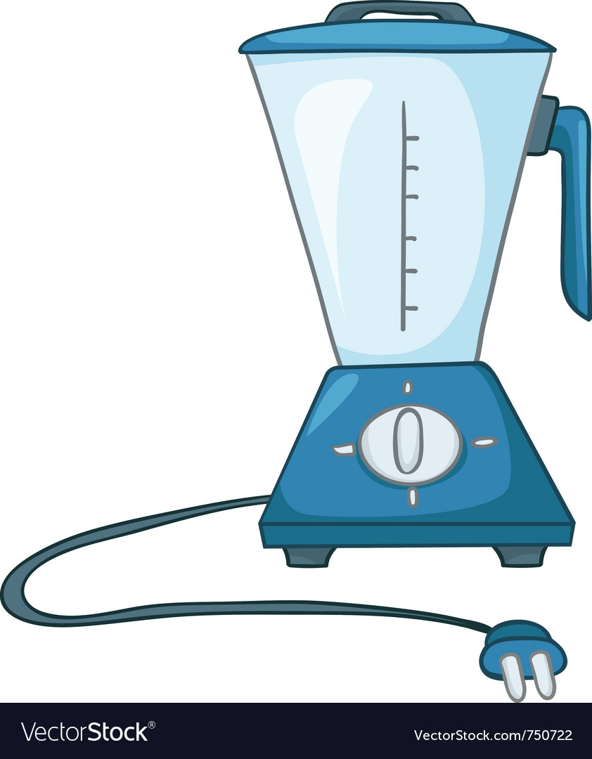Cartoon home kitchen blender vector | Price: 1 Credit (USD $1)
