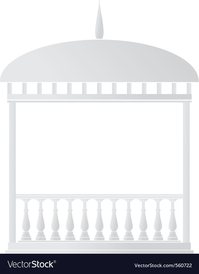 Rotunda arbor vector | Price: 1 Credit (USD $1)